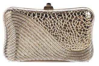 Judith Leiber Crystal-Embellished Box Clutch