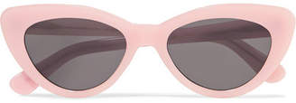Illesteva Pamela Cat-eye Acetate Sunglasses - Pink