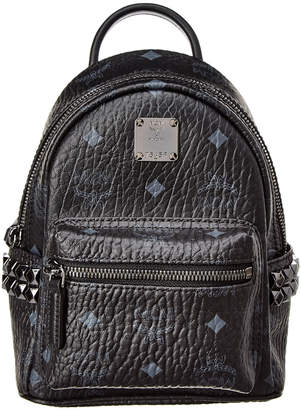 MCM Stark Bebe Boo Studded Visetos Backpack