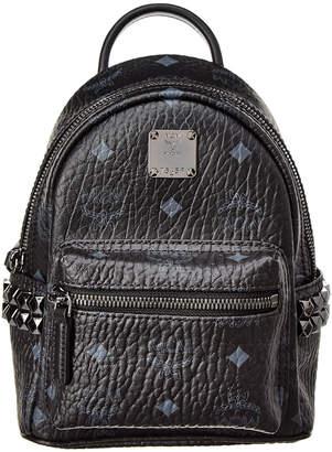 MCM Stark Bebe Boo Studded Visetos Backpack