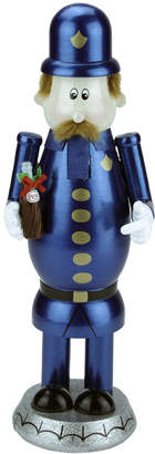Northlight 12In Decorative Blue Gold & Black Wooden Pepsi Pete Christmas Nutcracker