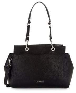 Calvin Klein Sonoma Faux-Leather Satchel