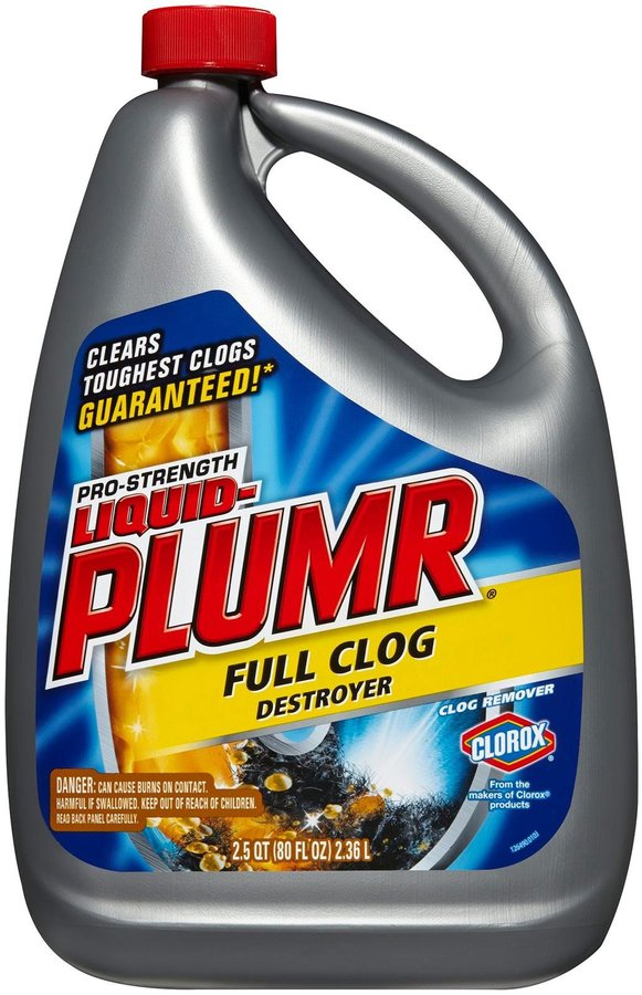 Liquid Plumr Pro-Strength Clog Remover, Full Clog Destroyer