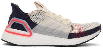 adidas Black and Off-White UltraBOOST 19 Sneakers