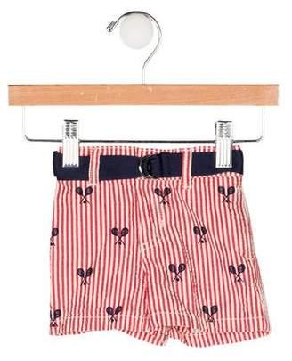 Ralph Lauren Boys' Belted Seersucker Shorts