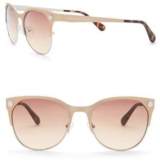 Diane von Furstenberg 54mm Round Sunglasses
