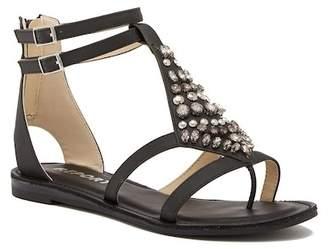 Report Quinta Embellished T-Strap Sandal