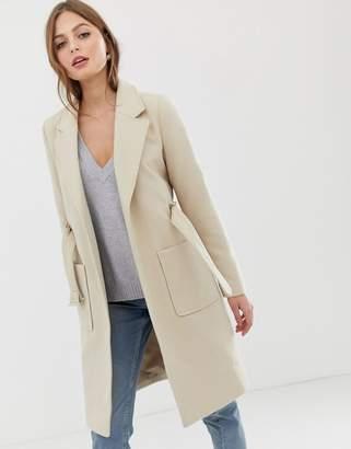 Vila belted tailored coat
