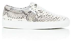 Swear London Women's Maddox Python Sneakers - Gray