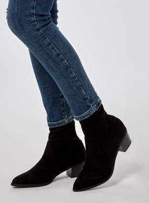 Dorothy Perkins Womens Black 'Maddie' Western Boots