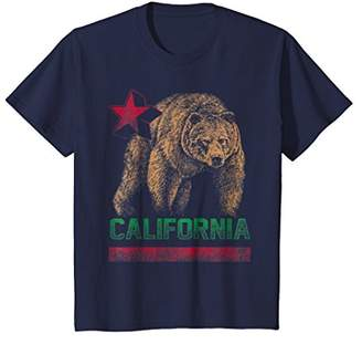 California Bear Republic Vintage Tee Shirt T-Shirt - Cali