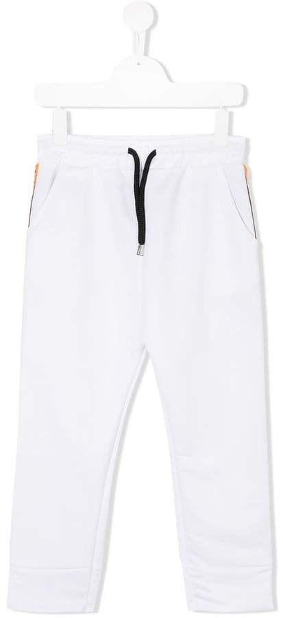 Diadora Junior tapered leg track trousers