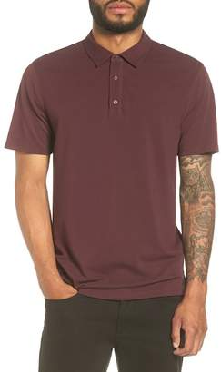 Vince Mixed Knit Polo Shirt