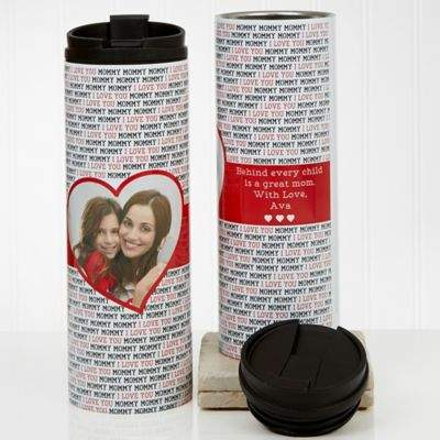 Bed Bath & Beyond Love You This Much Photo 16 oz. Travel Tumbler