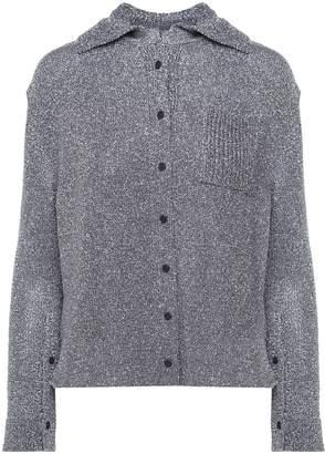 Krizia Lurex-knit Shirt