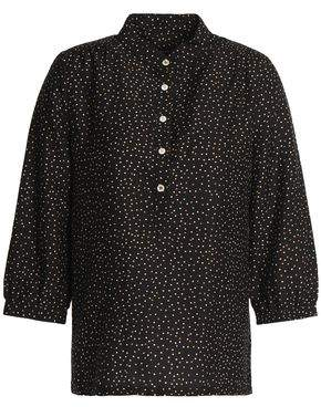 Vanessa Seward Printed Cotton And Silk-Blend Blouse