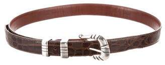 Ralph Lauren Alligator Waist Belt
