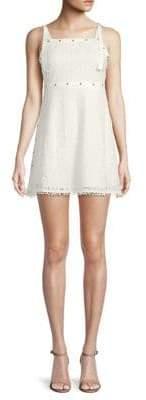 Moon River Lace Mini Dress