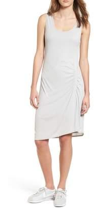 Splendid Ruched Rib Knit Dress