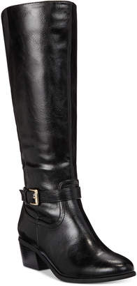 Karen Scott Fayth Wide-Calf Riding Boots