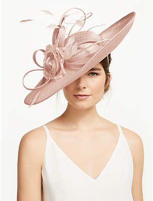 980e179c08c11 John Lewis   Partners Victoria Flower and Loop Disc Occasion Hat