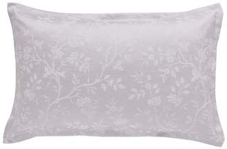 Sanderson Light Purple Cotton And Polyester Options 'Ida Blossom' Oxford Pillow Case