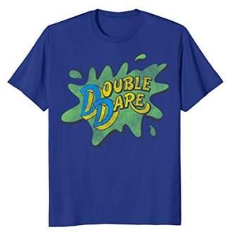 Nickelodeon Double Dare TV Show Slime Splat Logo T-Shirt