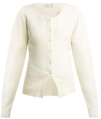 Lemaire Wool Cardigan - Womens - Cream