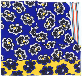 Paul Smith floral print scarf