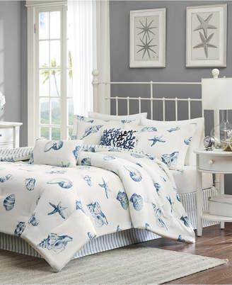 Jla Home Harbor House Beach House 4-Pc. California King Reversible Comforter Set Bedding