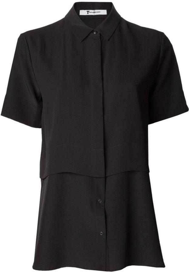 Alexander Wang layered shirt