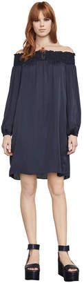 BCBGMAXAZRIA Christelle Off-The-Shoulder Dress