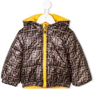 Fendi reversible monogram padded jacket