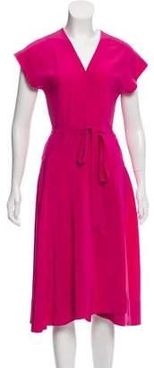 Donna Karan Silk Wrap Dress