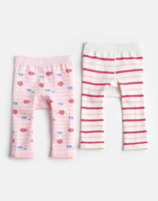 Joules Clothing Bright White Lady Bird Lively Twoack Leggings