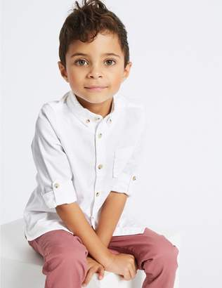 Marks and Spencer Pure Cotton Shirt (3 Months - 5 Years)