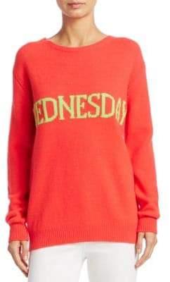 Alberta Ferretti Wednesday Intarsia Sweater