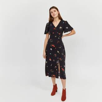 7992013c Warehouse Floral Print Dresses - ShopStyle UK