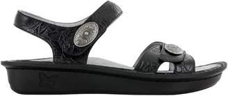 Alegria Women's, Vienna Low Heel Sandals Black Multi 3.6 M
