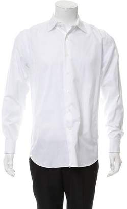Canali French Cuff Button-Up Shirt