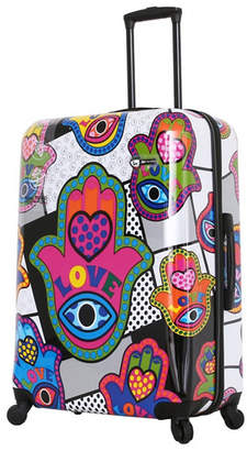 8e61dc5996 Mia Toro Italy Hamsa Love S Hard Side Spinner Luggage Carry-On