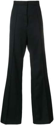 Nina Ricci side stripe wide-leg trousers