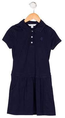 Brooks Brothers Girls' Collared Knit Dress