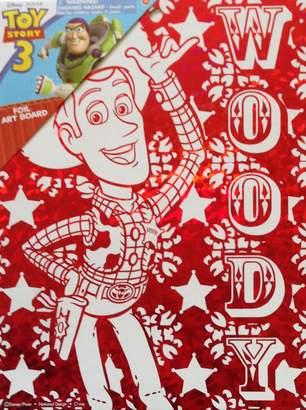 "Toy Story Disney Pixar Wall Decoration ART BOARD (7 1/2"" X 9 3/4"")"
