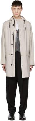 Stutterheim Off-White Ekeby Raincoat