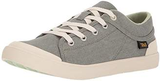 Teva Women's W Freewheel Washed Canvas Sneaker