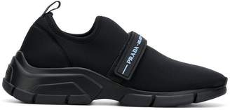 Prada touch strap fastening sneakers