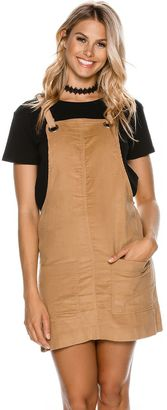 Swell Cord Eyelet Apron Dress $44.45 thestylecure.com