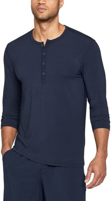 Under Armour Men's Athlete Recovery Ultra Comfort Sleepwear Henley
