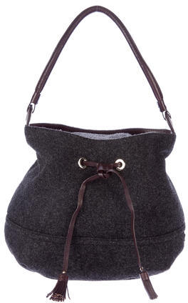 Kate Spade Kate Spade New York Leather-Trimmed Bucket Bag